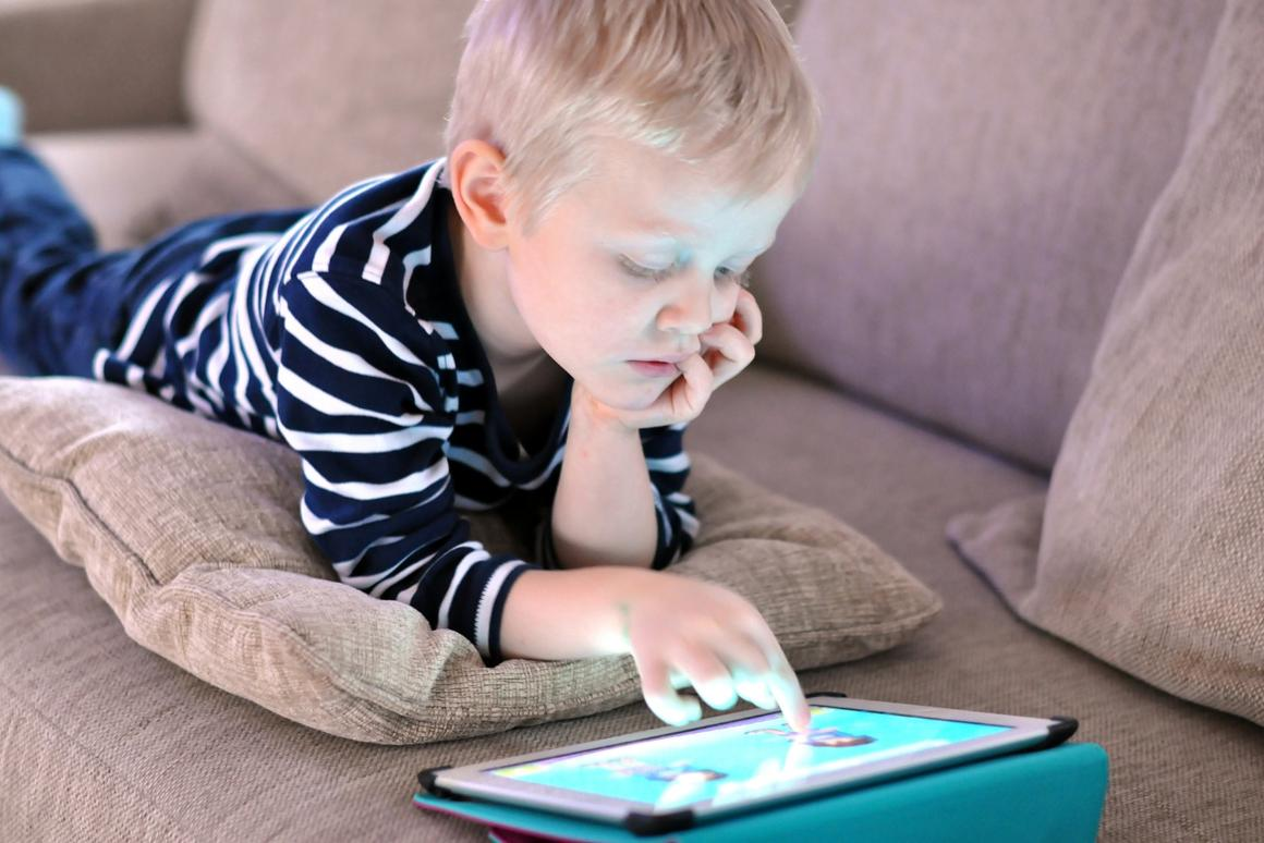 The University of Oxford study found almost no difference in overall sleep duration between children who used no screens and those who used screens for up to eight hours a day
