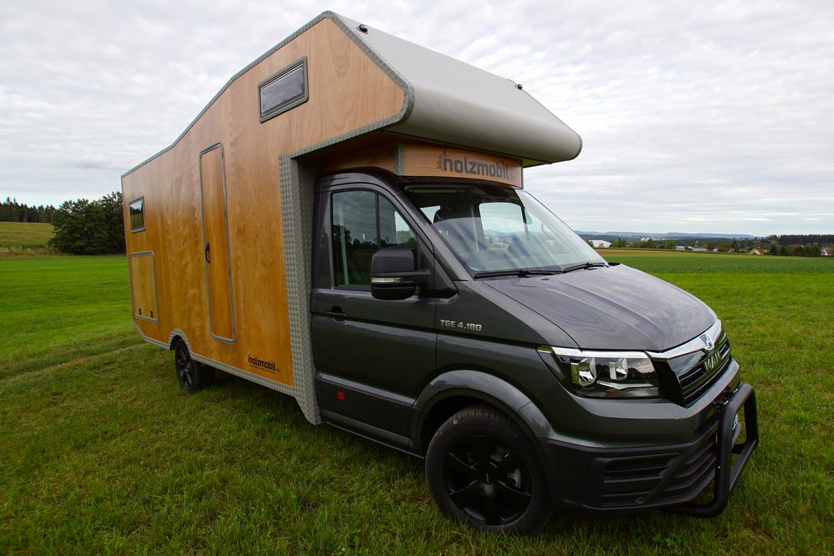 We've seen a few MAN TGE-based motorhomes and camper vans over the years, and the Holzmobil is the prettiest