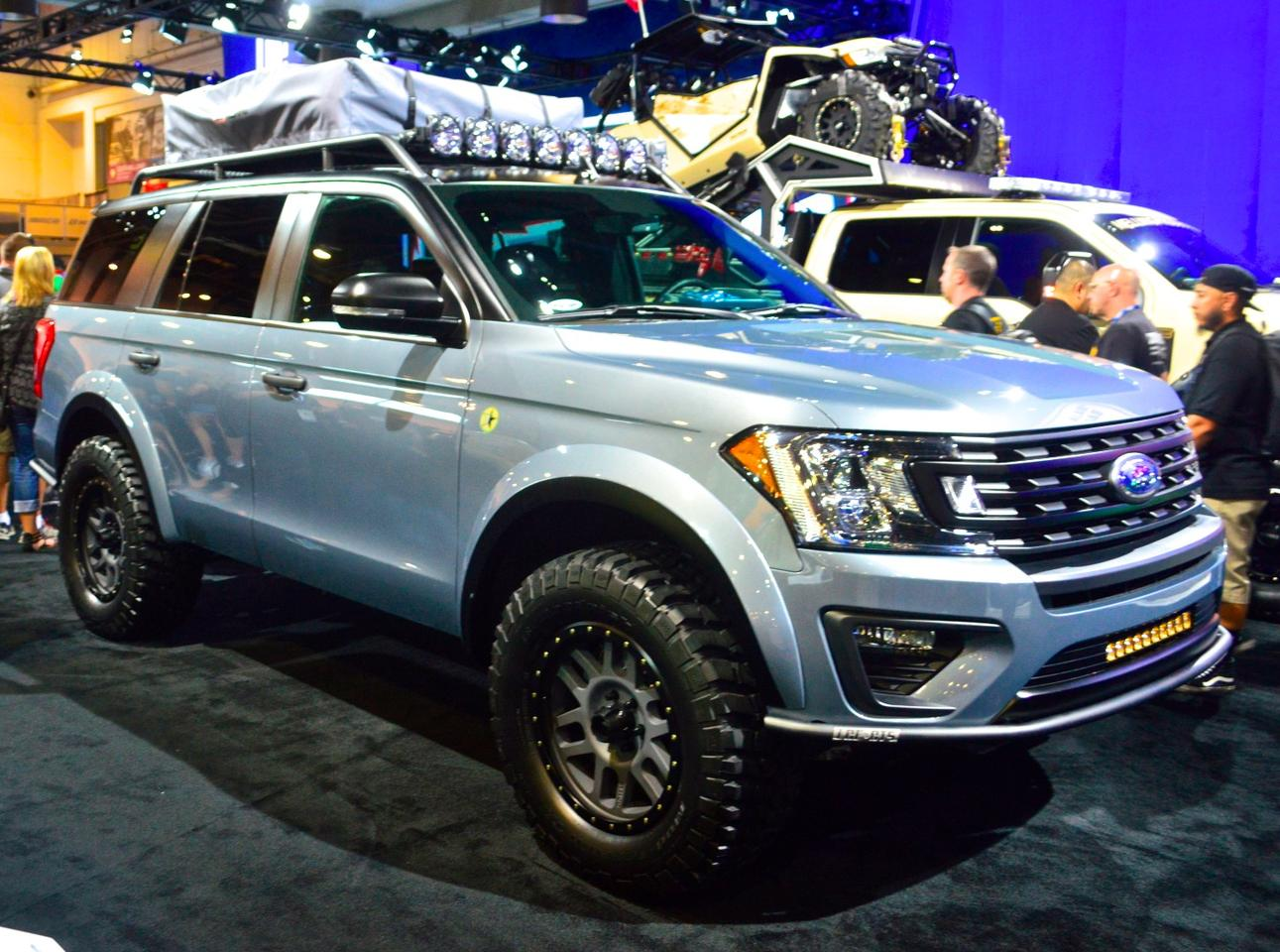 "Ford was all about expedition-style SUVs and trucks this year, starting with this 2018 Expedition XLT ""Baja-Forged Adventurer"""