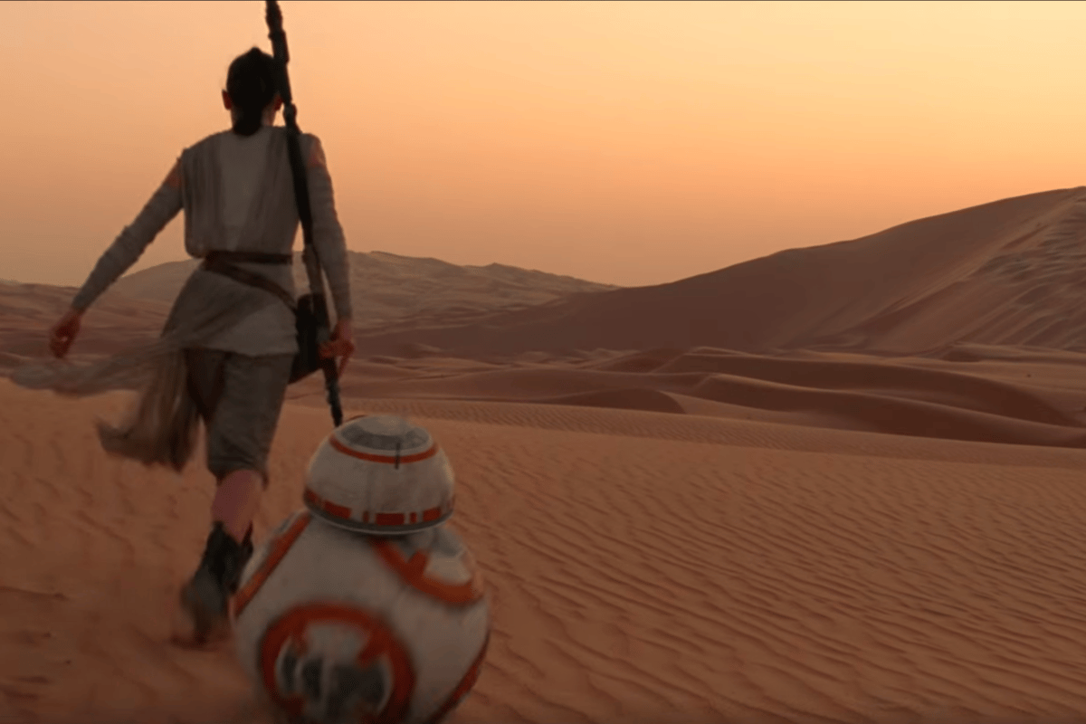Star Wars: The Force Awakens arrives in theatres December 18
