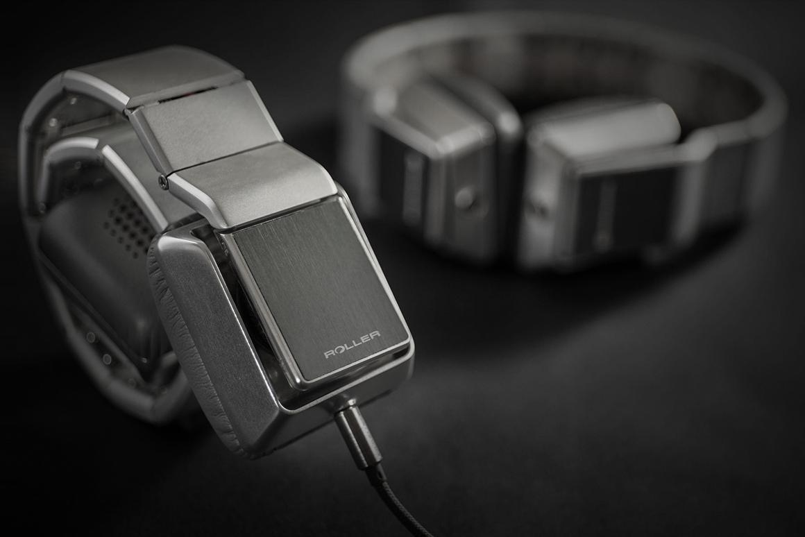 The Luzli Roller Mk01 on-ear headphones roll up like a pangolin for travel