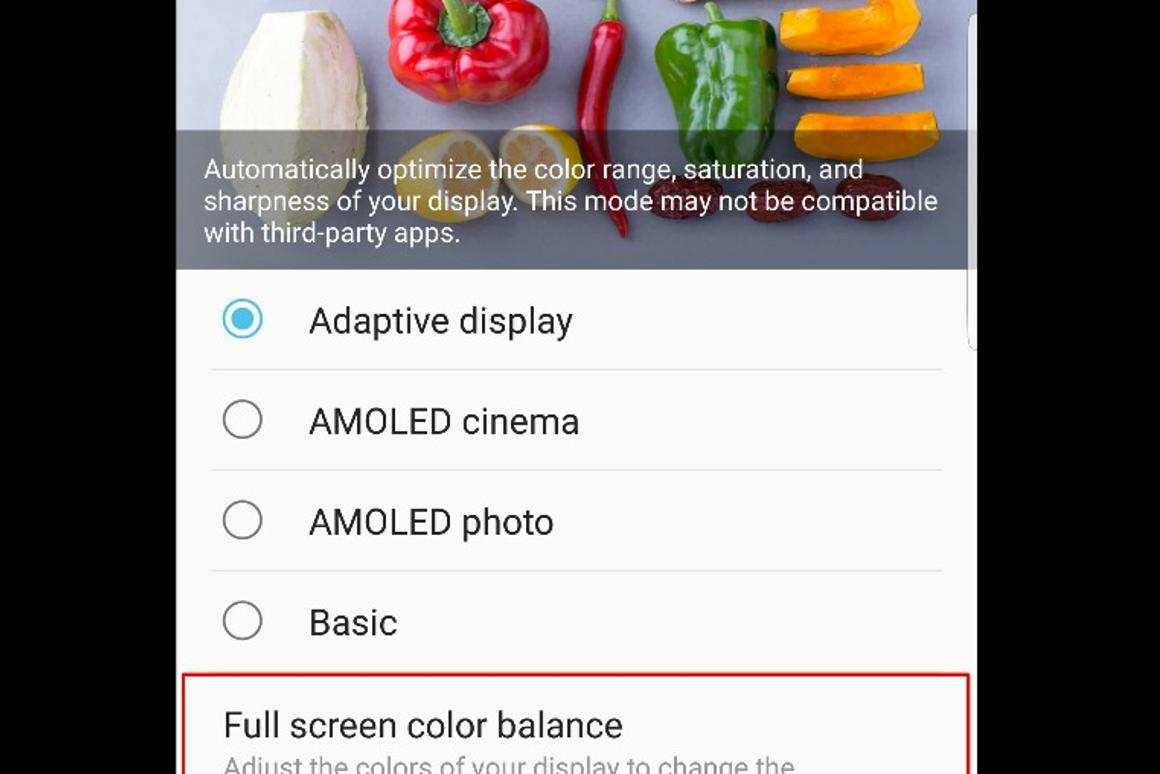 How to fix red tint – or personalize white balance – on the