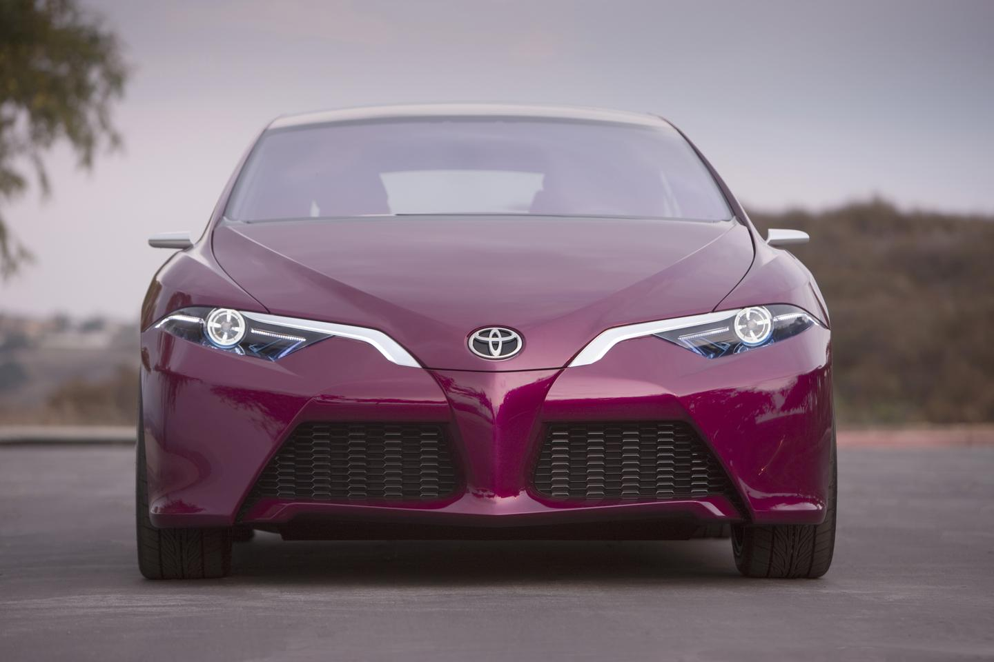 Toyota's NS4 advanced plug-in hybrid concept front