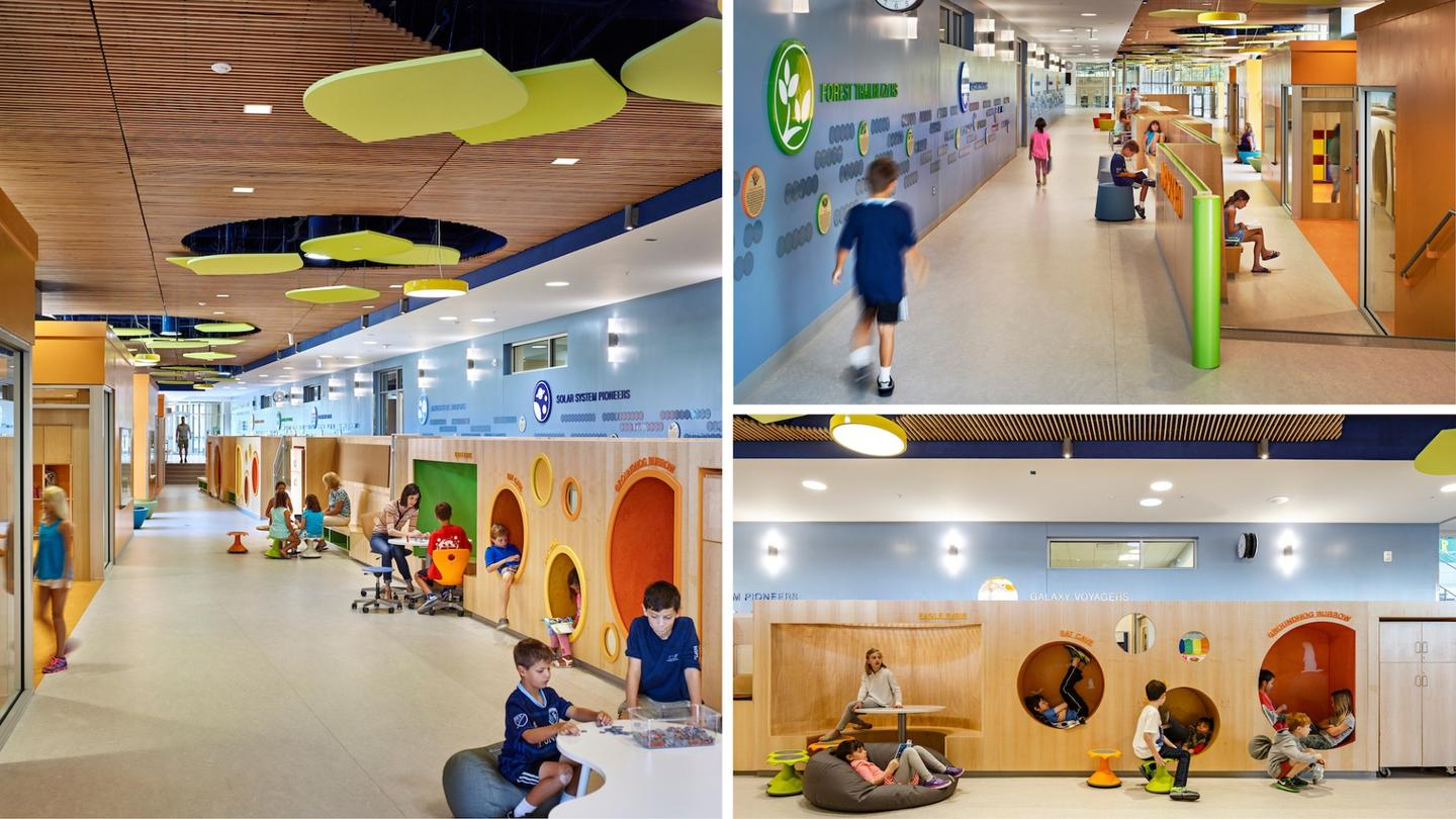 Discovery Elementary School was designed byVMDO Architects