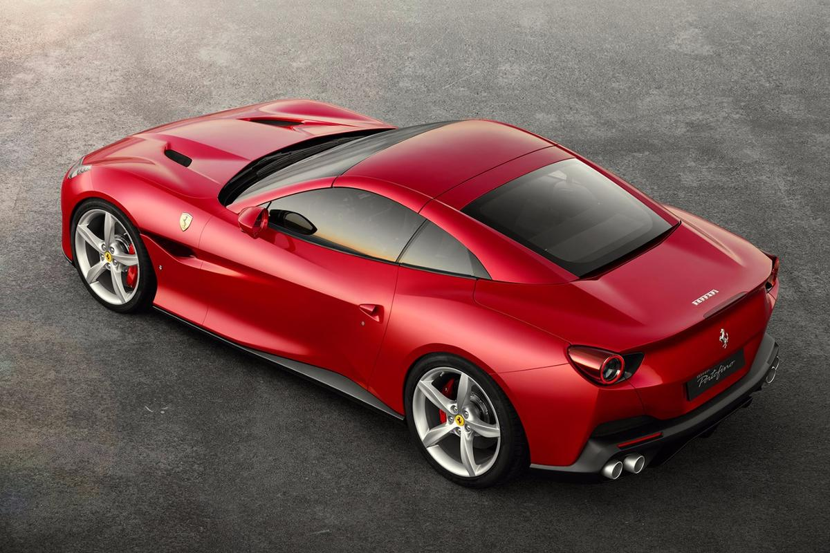 2018 Ferrari Portofino: replaces the California T as Ferrari's 'entry level' convertible