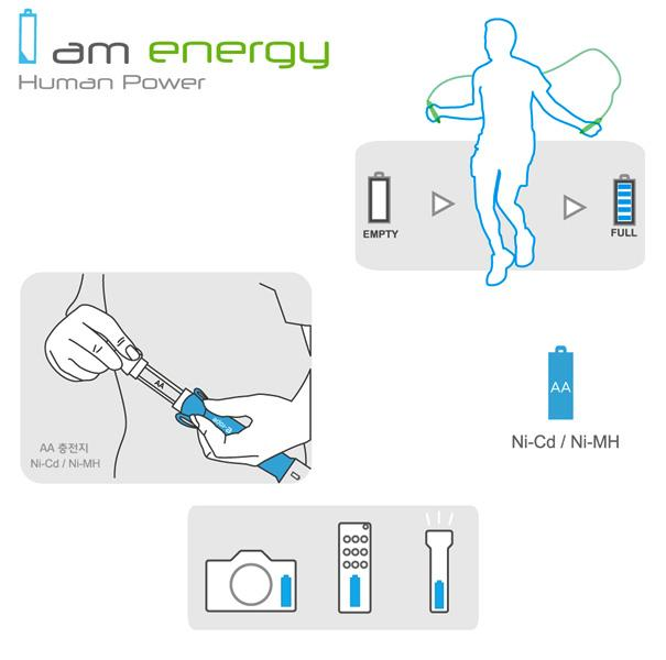 Jump your way to better health and recharge your batteries at the same time with the E Rope concept