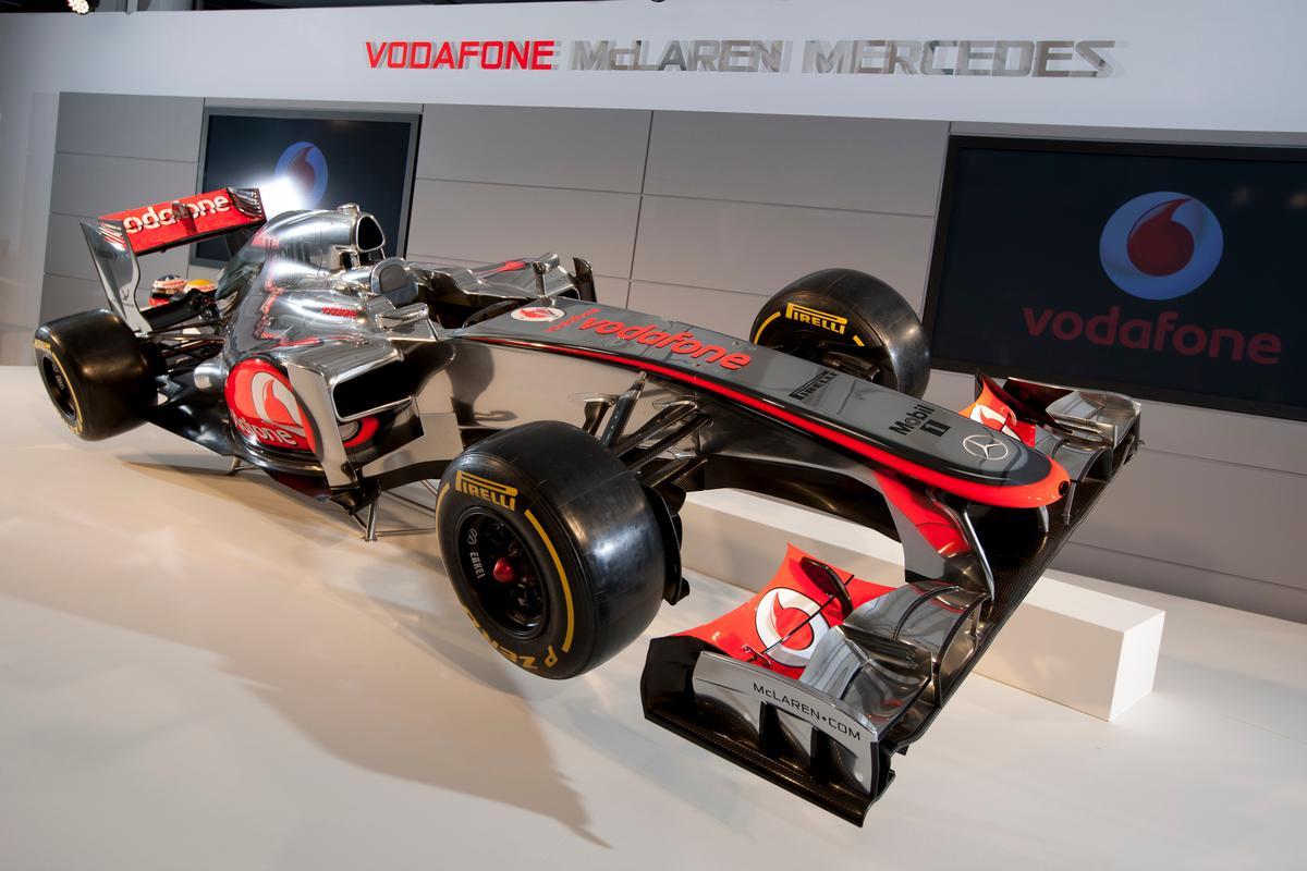 Vodafone McLaren Mercedes 2012 season F1 launch