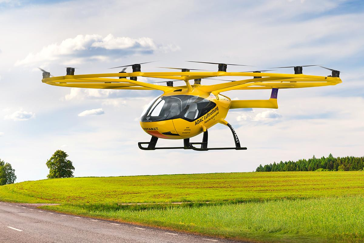 Field tests of the VoloCity for air rescue operations are due to begin in 2023
