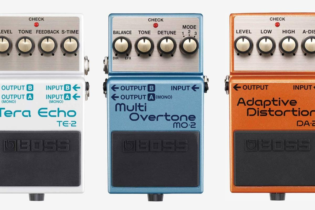Three new BOSS stomps featuring Roland's Multi-Dimensional Processing technology have been launched