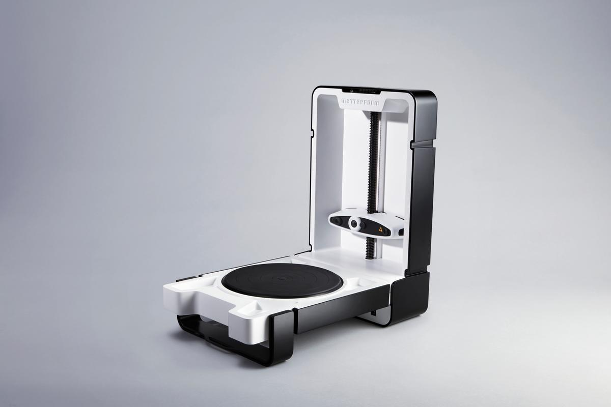 Matterform will launch its new 3D scanner in February