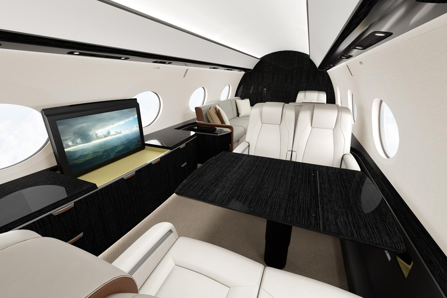 The G800 cabin