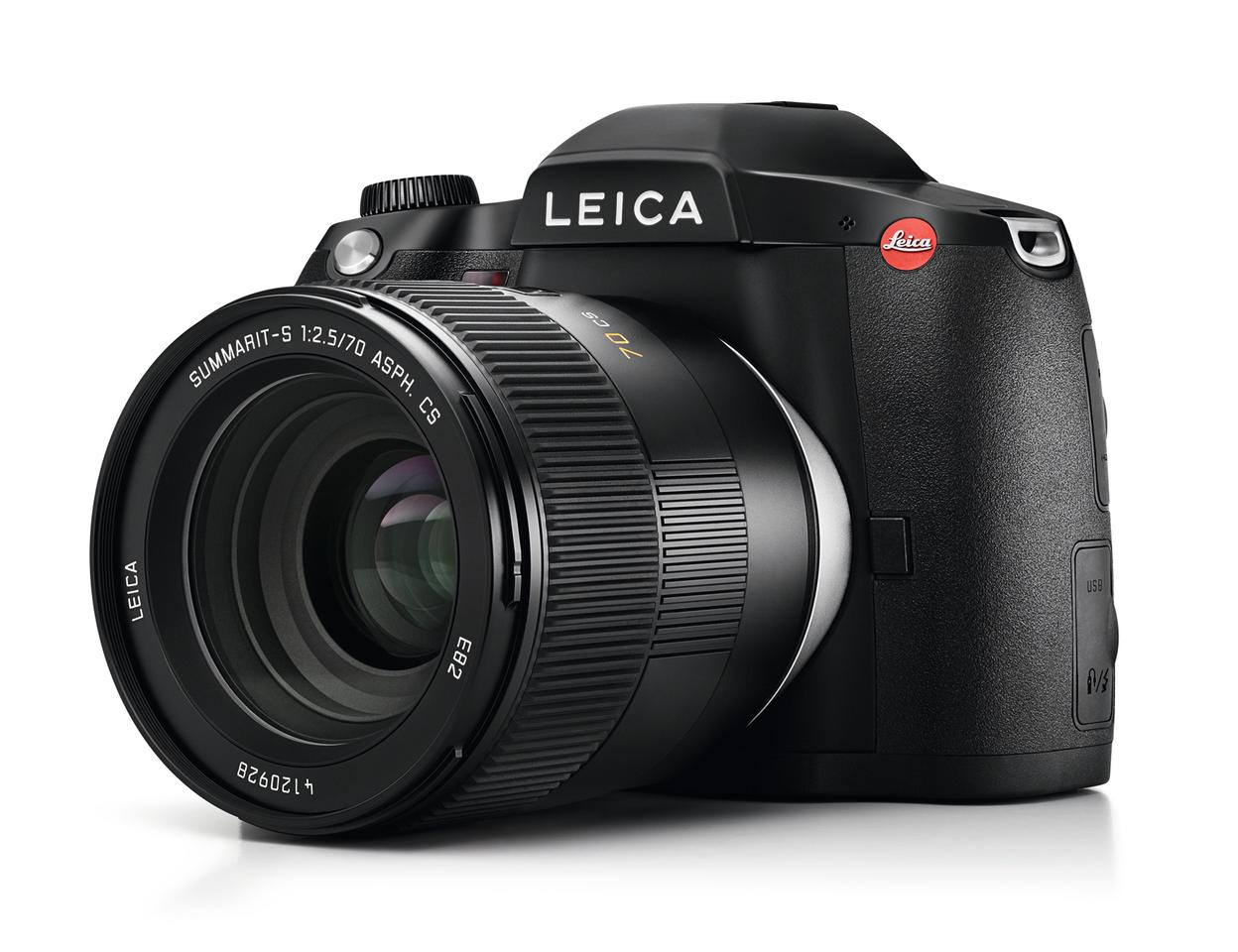 The production Leica S3 medium format DLSR looks pretty much the same as the model we saw at Photokina 2018