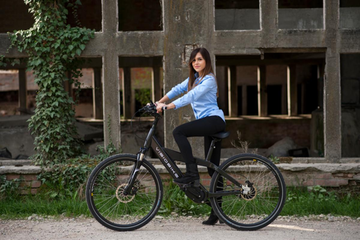 The Visiobike packs a lot of electronic features