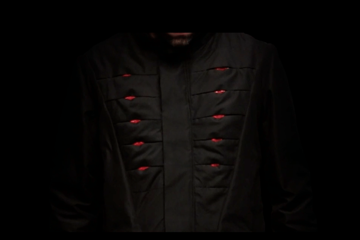 Electronically actuated vents give the Omius jacket advanced breathing