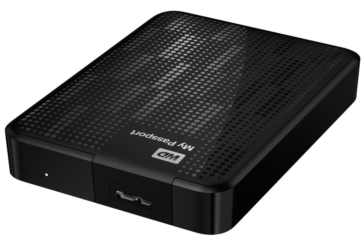 Western Digital's My Passport line of portable storage drives is now available in capacities up to 2TB