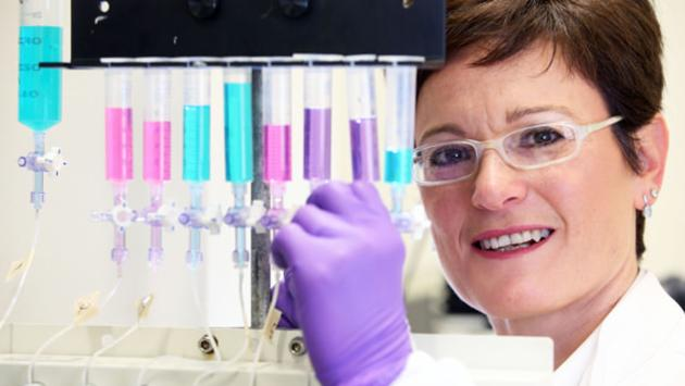 Cardiff University's Professor Daniela Riccardi says that if human trials of a drug to treat asthma are successful, a cure could be on the horizon (Photo: Cardiff University)
