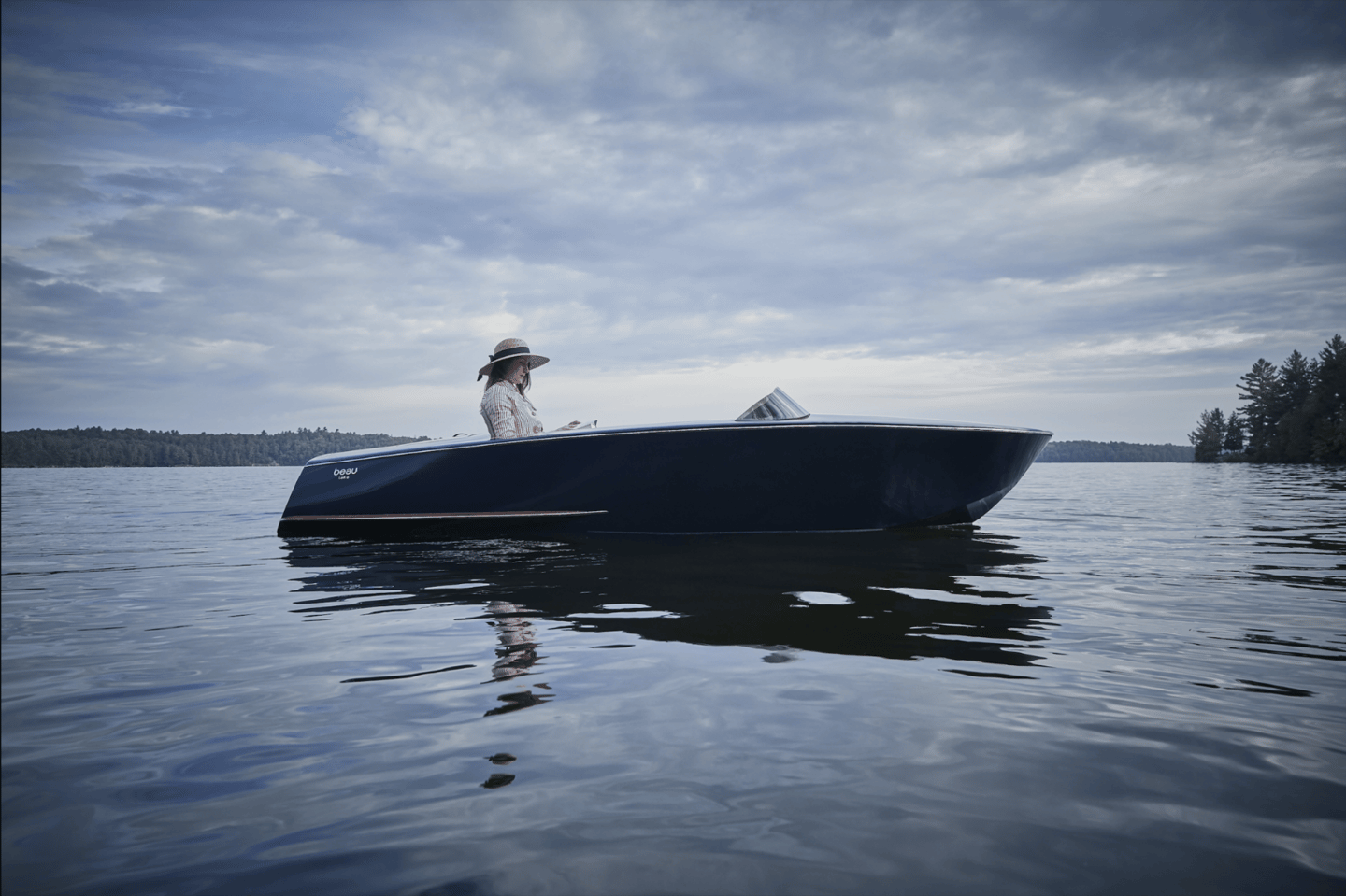 The Beau Lake Runabout promises simple elegance from a simpler time