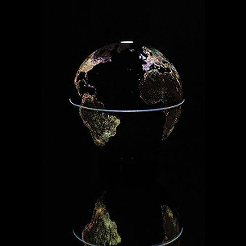The City Light Globe creates a beautiful light show best viewed with the lights off