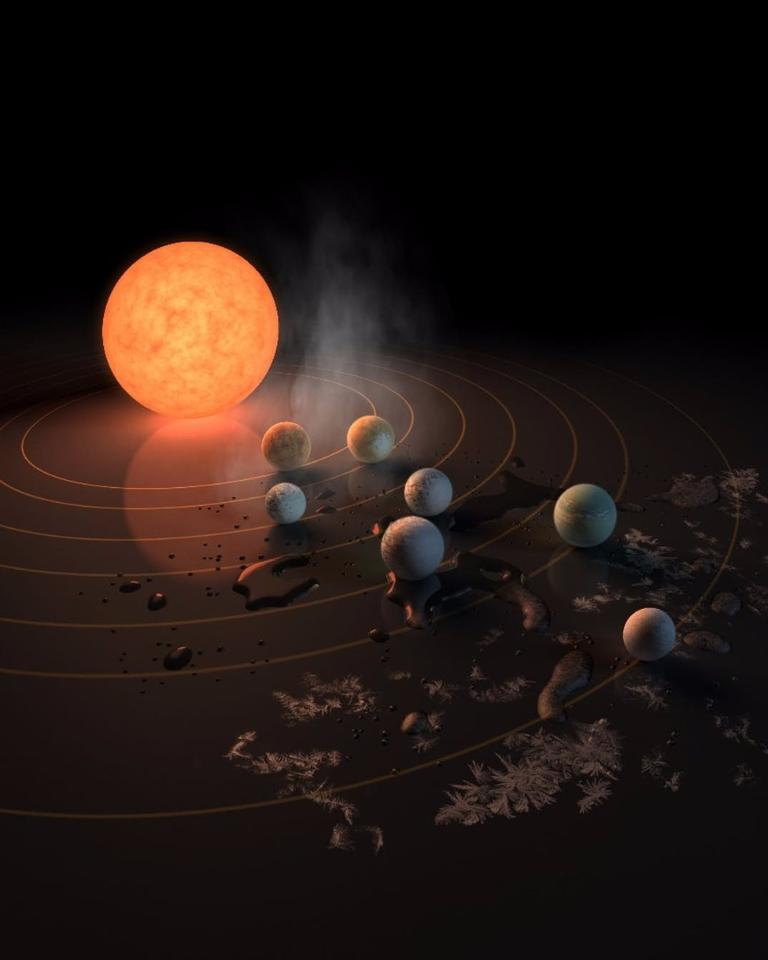 The discovery of the TRAPPIST-1 system and its seven habitable planets earlier this year still left scientists with plenty of questions