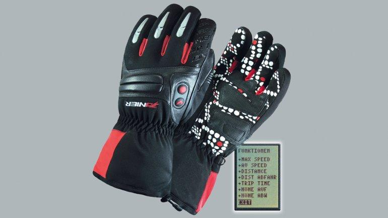 The GPS-enabled X-Plore.XGX gloves from Zanier