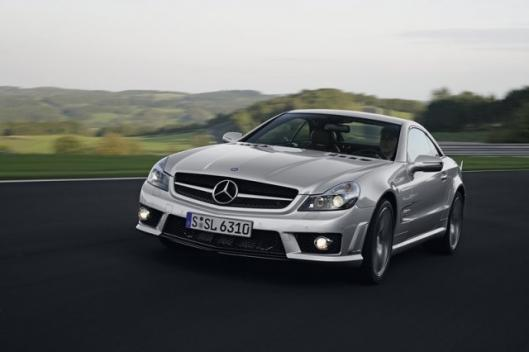 The Mercedes SL 63 AMG
