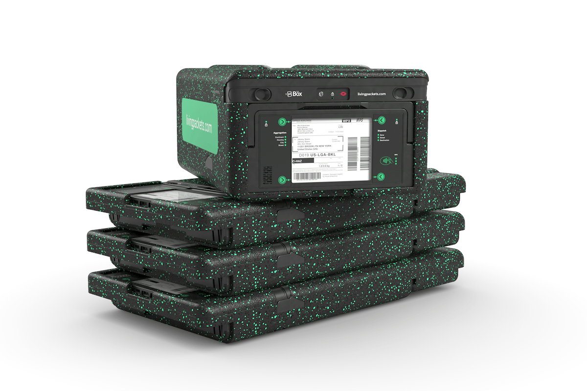 The Box, from Living Packets, is a smart box loaded with sensors and an internet connection