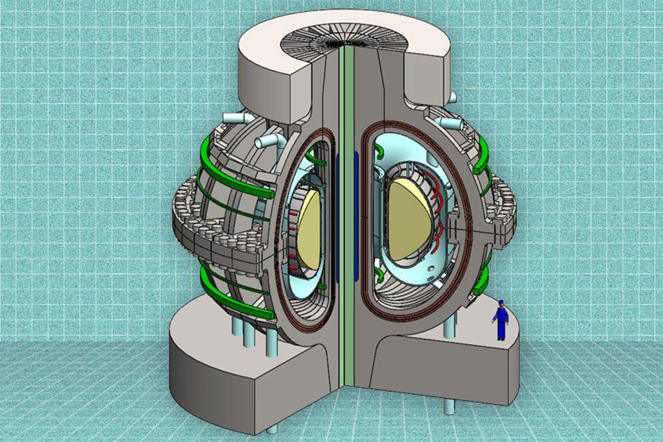 A cutaway view of the proposed ARC reactor that could see commercially viable fusion power become a reality sooner rather than later