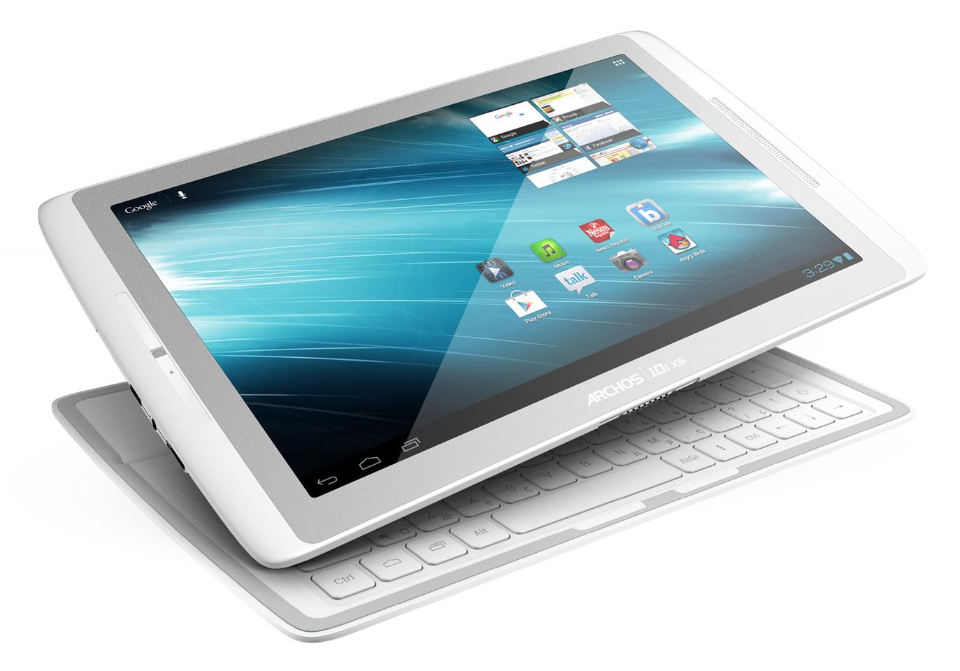 The 10-inch budget Android tablet comes supplied with its own combined cover, dock, stand and keyboard in the shape of the very thin Coverboard