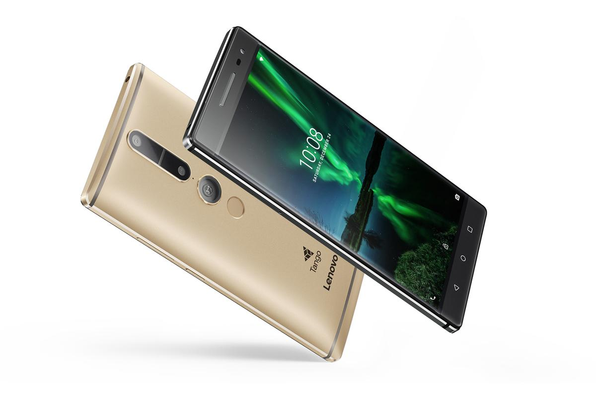 The PHAB2 Pro from Lenovo is the first smartphone running Google's Project Tango AR technology