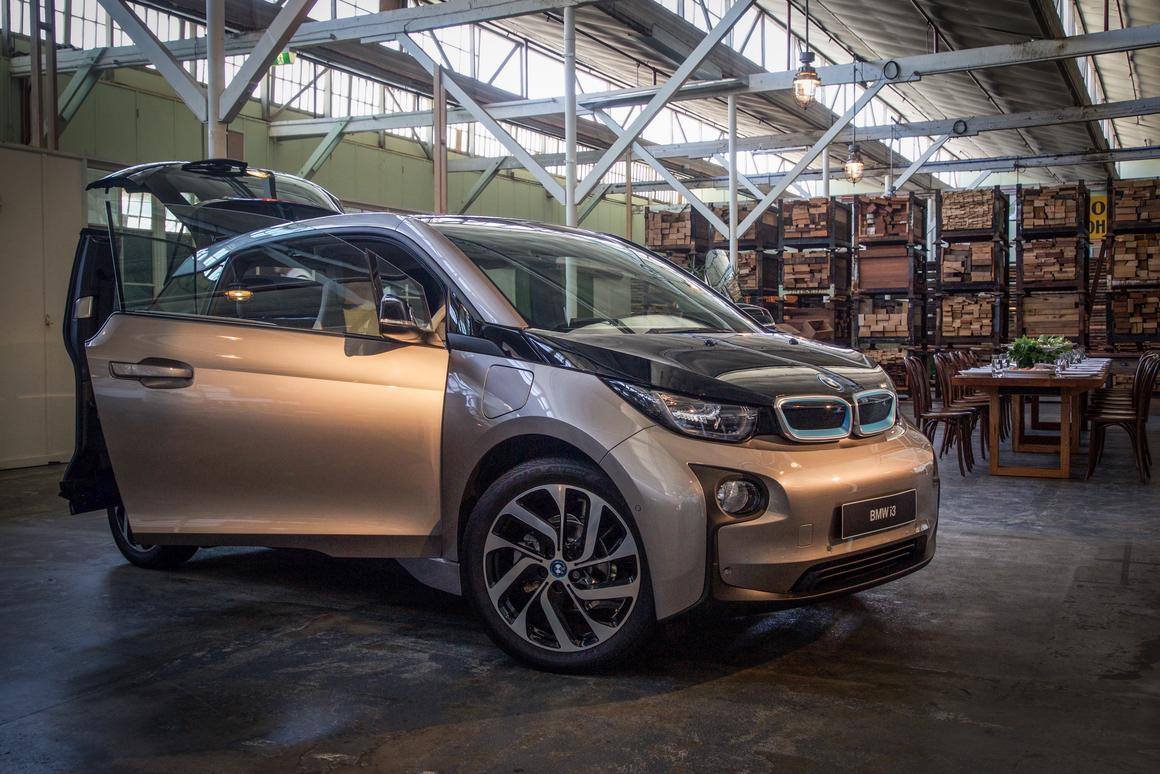 Increased battery density gives theupgraded BMW i3 a real world range of 200 km