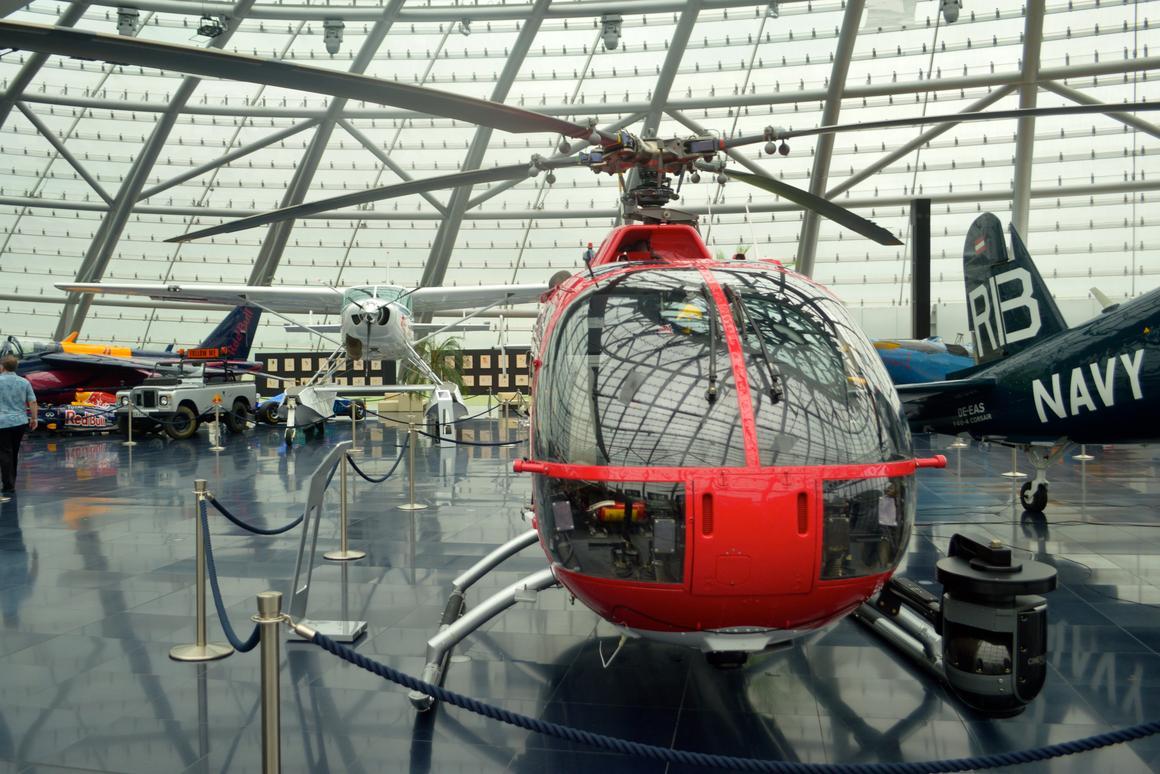 From aerobatics to F1 cars: Inside Red Bull's Hangar-7 museum