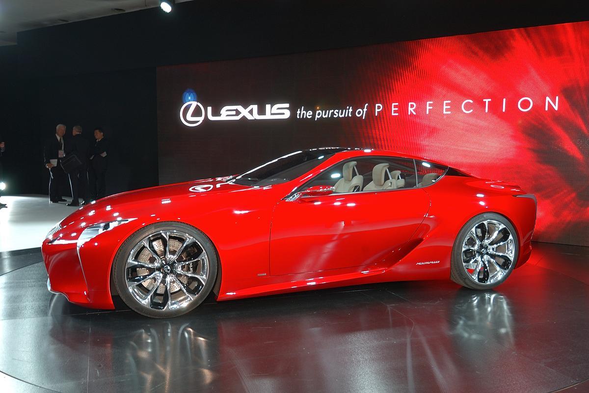 The Lexus LF-LC Hybrid Sports Concept