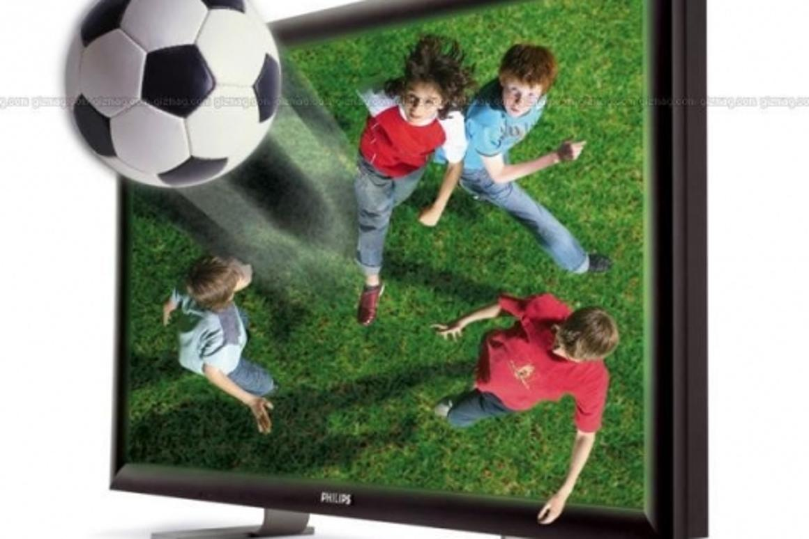 Concept art for the Philips WoWvx 3D TV
