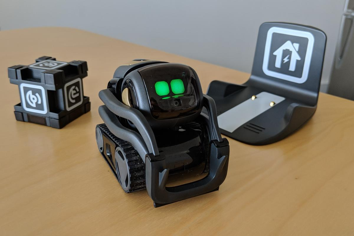 Anki's Vector is a home assistant/pet robot