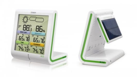 The +ECO Clima Control solar powered weather station