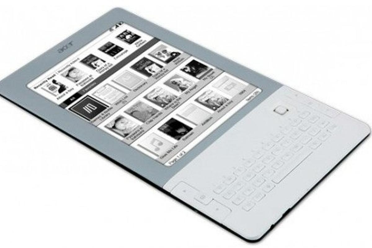 Acer joins the e-Reader party with the LumiRead