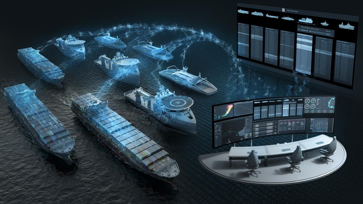 Rolls-Royce imagines usingsatellite systems as part of ship-to-ship communication networks