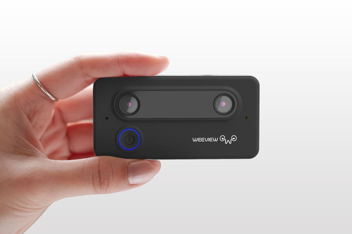 The SID camera can live-stream 3D video thanks to its stereoscopic lenses