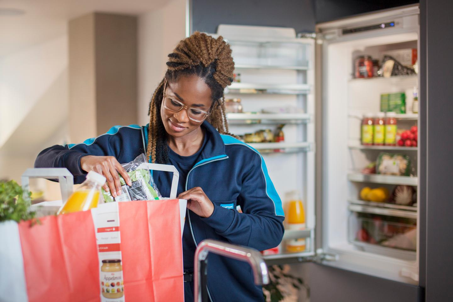 The In-Fridge Delivery pilot is being run by the online grocery chain, the firm responsible for delivering the goods and a smart lock provider