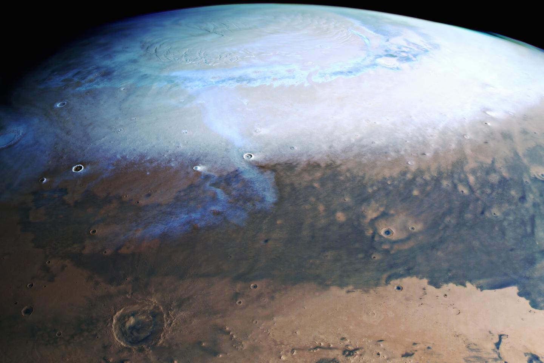 ESA spacecraft captures mosaic of Mars from orbit