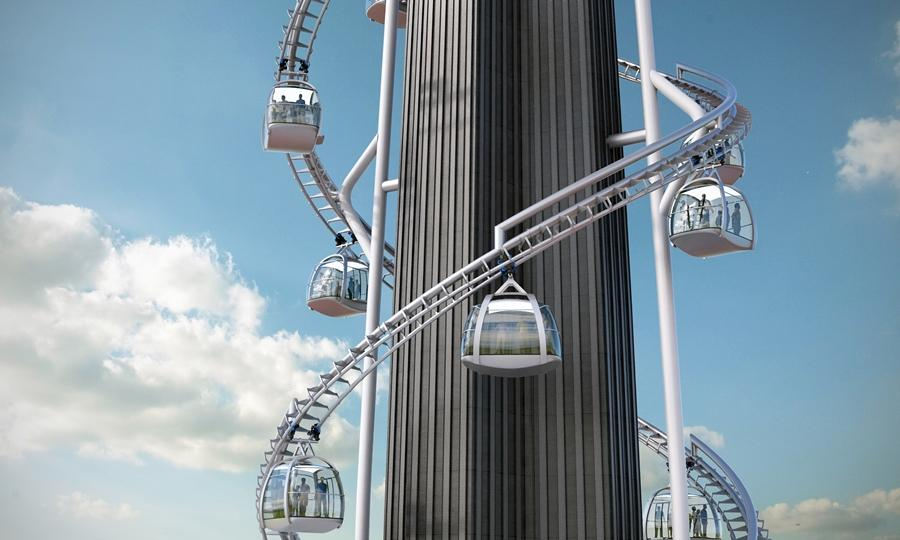 Tricentennial Tower is a new tourist and family attraction proposed for New Orleans