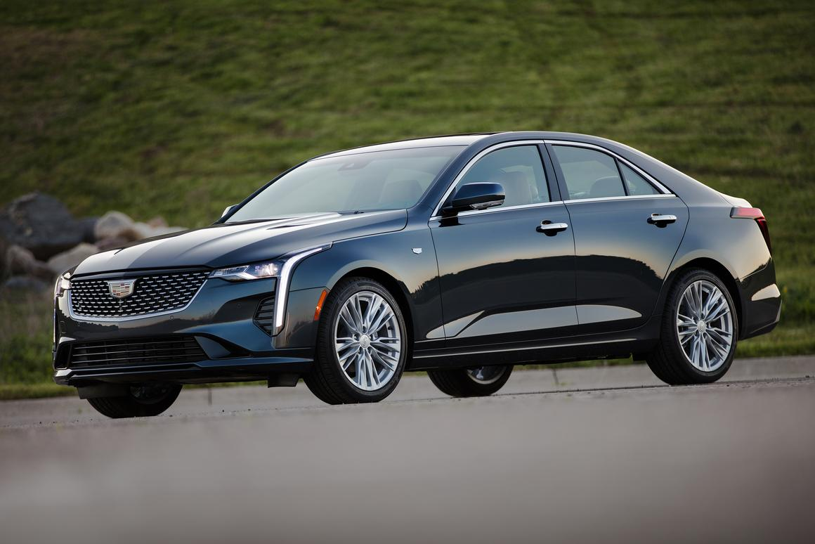 The 2020 Cadillac CT4 is all-new and utilizes Caddy's rear-wheel drive platform as its basis