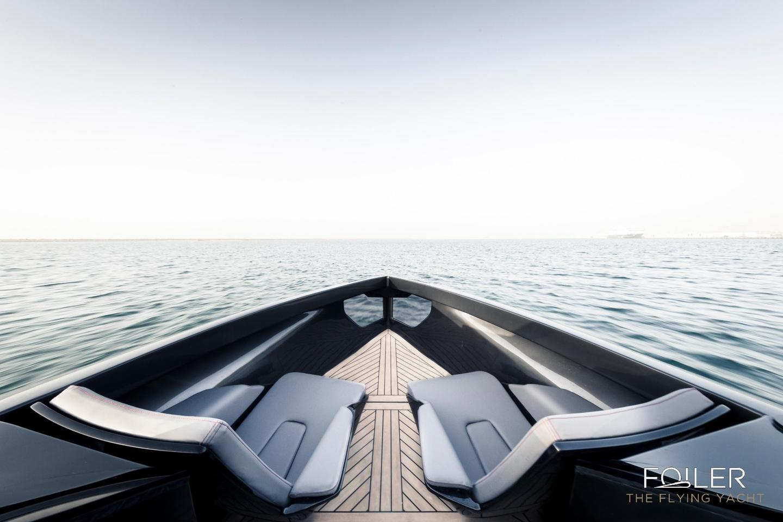 Foiler Flying Yacht Is A Sleek Hybrid Powered Hydrofoil