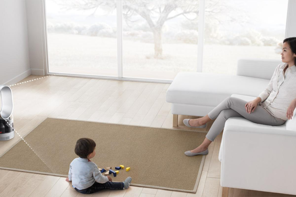 The new Dyson Humidifier is promised to kill 99.9 percent of bacteria