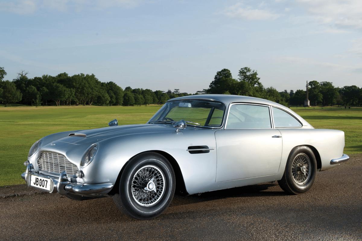 One of the original Goldfinger prop cars:sold for UK£2.9 million back in 2010
