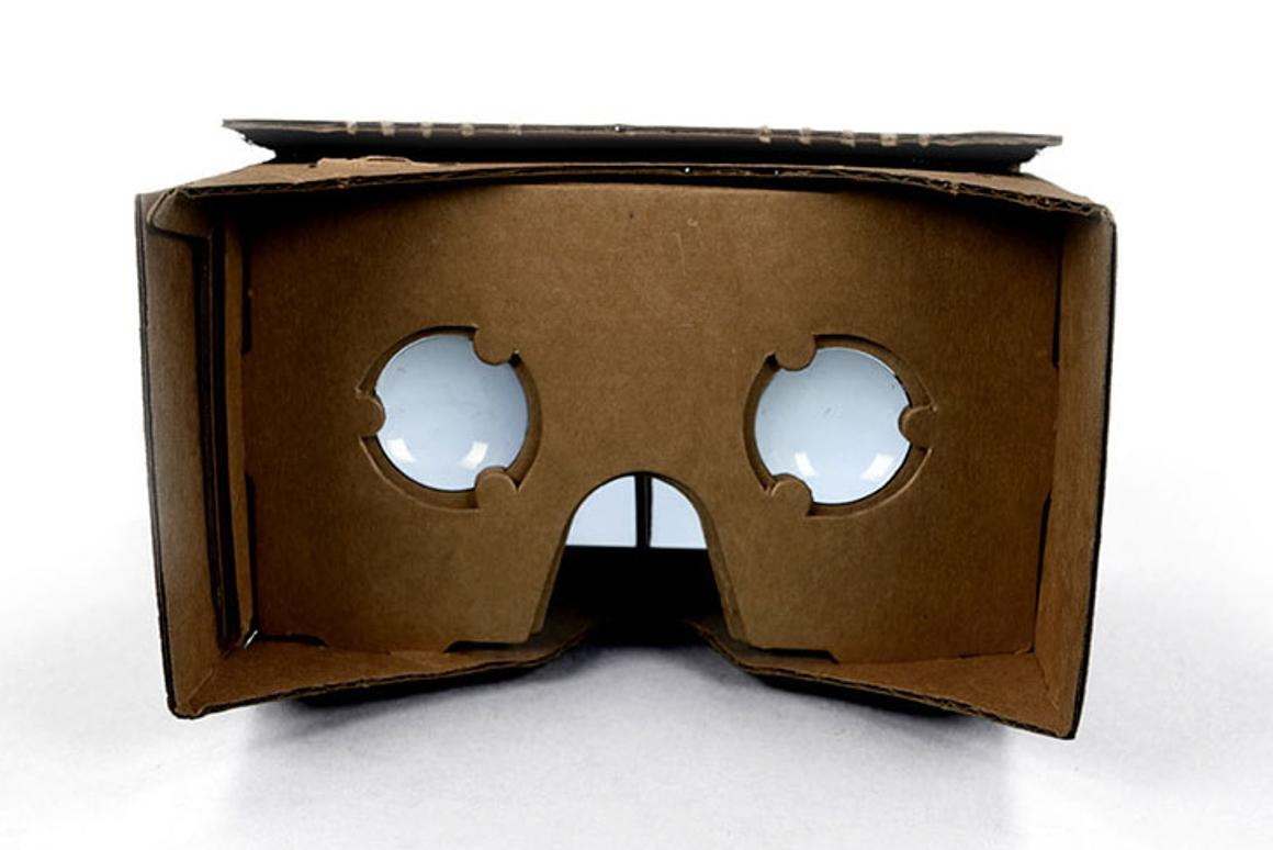 Google is taking on Oculus and Sony with ... a piece of cardboard?