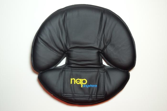 The NapAnywhere in its flattened position