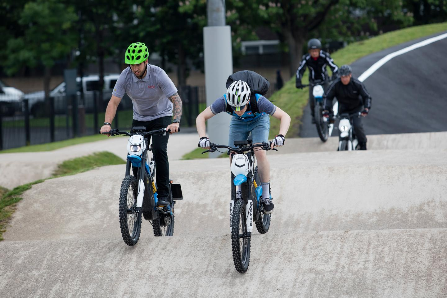 Brinco gang attacks BMX track