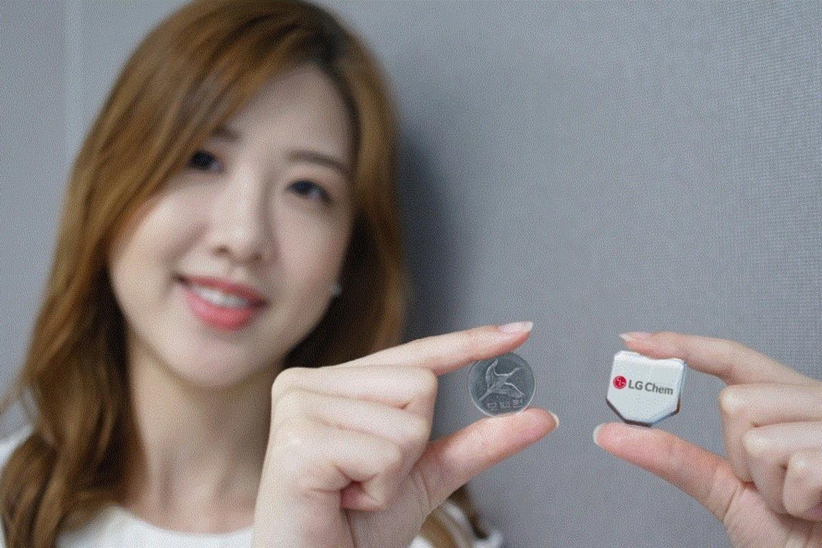 LG has developed a hexagonal smartwatch battery