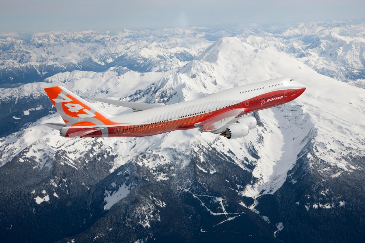 The 747-8 Intercontinental began its flight test program on March 20, 2011 (Photo: Boeing)